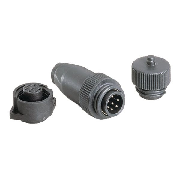 Разъём палубный семиштырьковый Hella Marine Plugs and Sockets 8JA 006 807-801 12 В 10 А