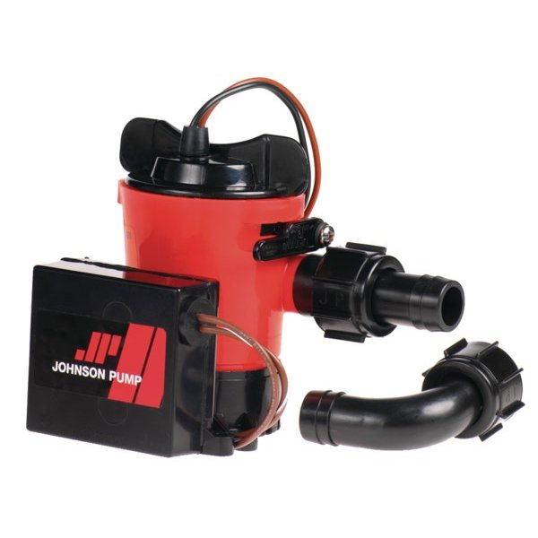 Помпа трюмная погружная Johnson Pump Ultima Combo L450 UC 32-1450UC-01 12 В 40 л/мин 19 мм со штуцерами Dura-Port