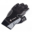 Перчатки без пальцев CrewSaver Short Finger Glove 6950-M чёрно-серые 175 x 105 мм